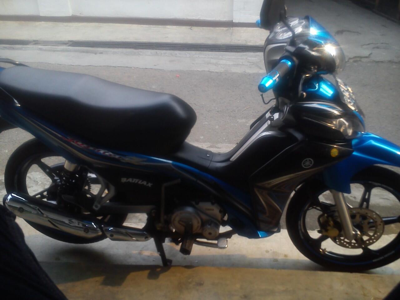 Yamaha Jupiter Z tahun 2011 Blue ! Murah !