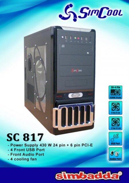 CASING SIMBADA SIMCOOL SC817 CUMA RP.580.000