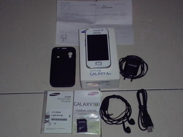 Samsung Galaxy ACE GT-S5830 White Bandung.