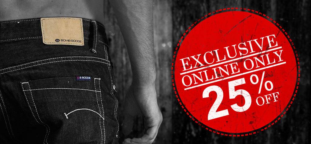 Terjual Bomb Boogie Jeans Original Diskon 25%  818ffc3e05