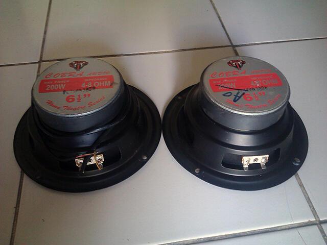 "Loadspeaker Cobra Audio 6,5"""