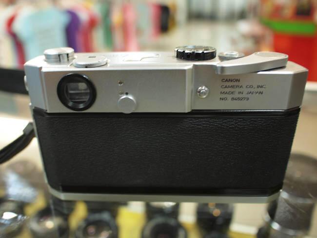 [de Camera] kamera Rangefinder CANON 7 + Lensa CANON 50mm F1.4 (like new)