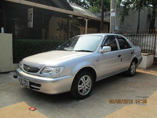 Toyota Soluna 2001 Ex Taxi / Silver / sdh nm prngn / pjk 1 thn pjg