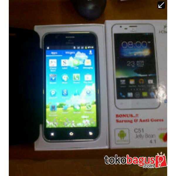 i-Cherry C51 Android Jelly Layar lebar 5,2 inch Murah