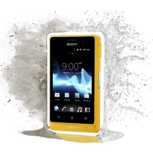 Sony Xperia GO - Yellow
