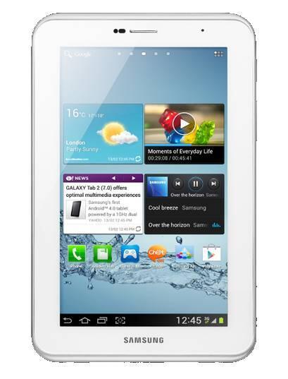 Samsung Galaxy Tab 2 7.0 Espresso WiFi P3110 - 8 GB - White