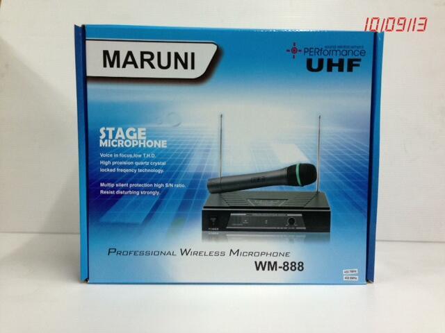 Wireless Microphone Maruni WM-888