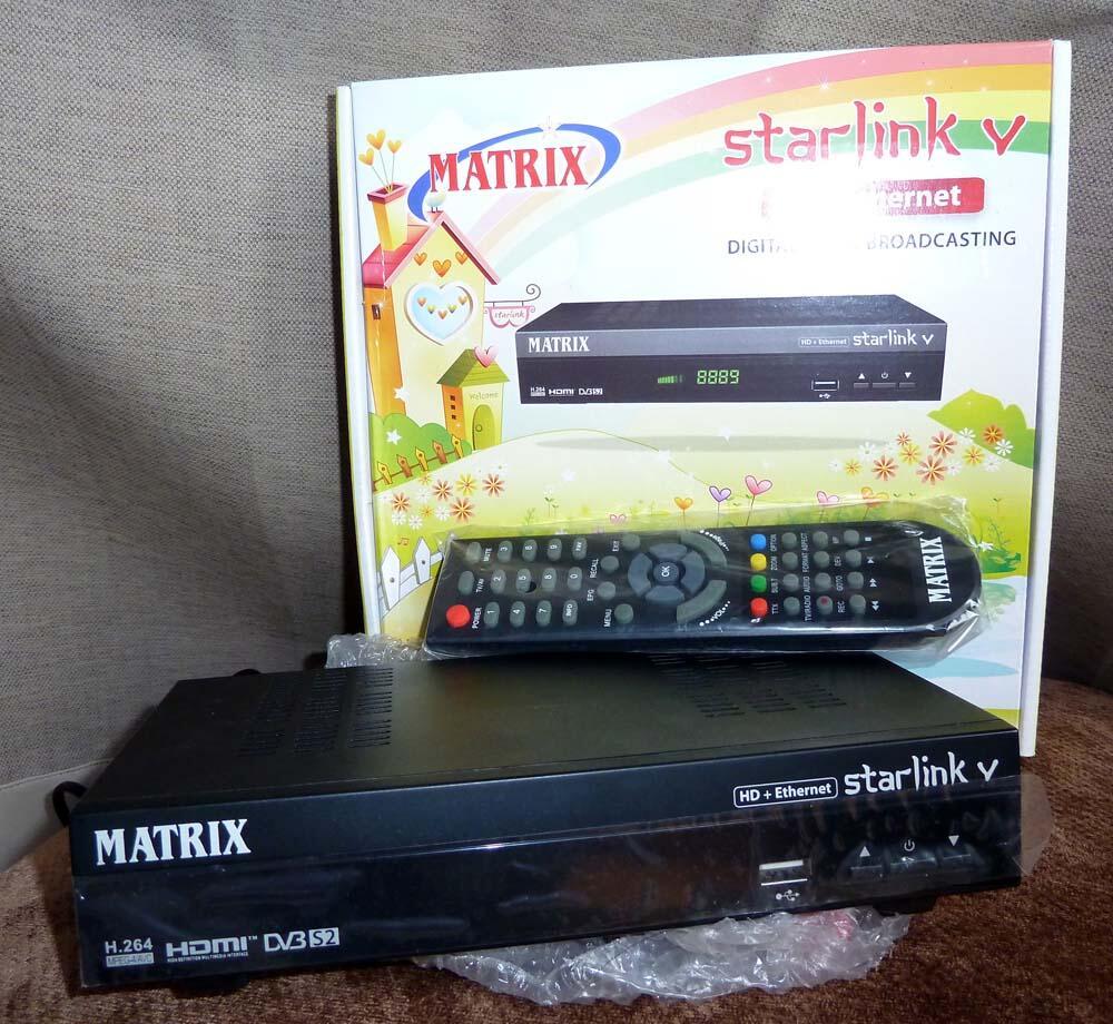 JUAL Receiver Matrix Starlink V HD Ethernet