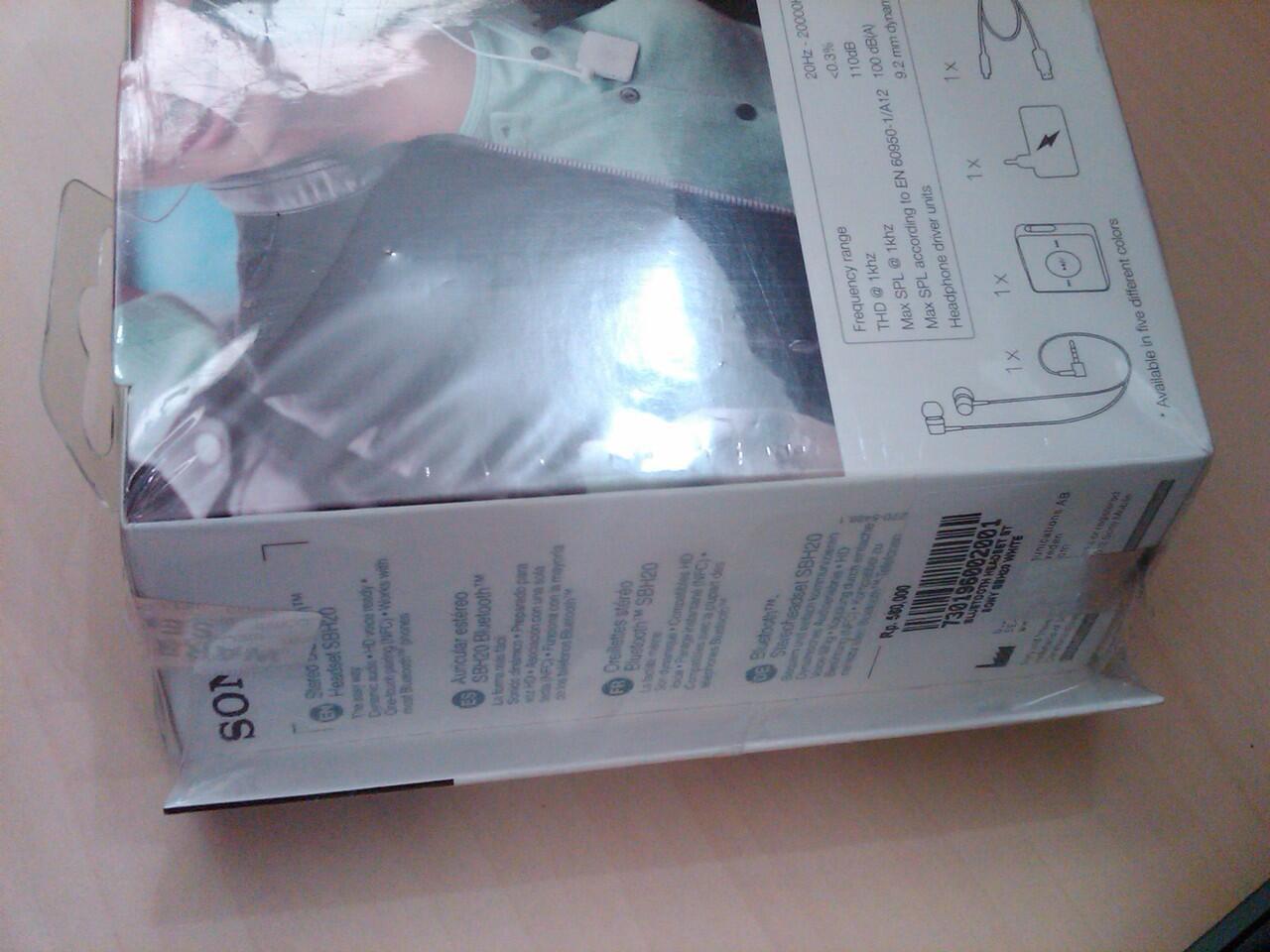 BNIB Sony Bluetooth Headset SBH20 NEW Murah