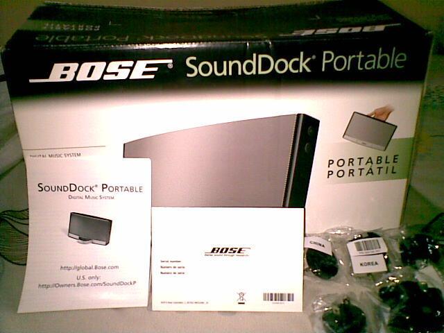 Bose SoundDeck Portable