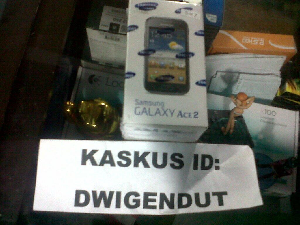 Dijual Samsung Galaxy Ace 2 White BNIB harga murah