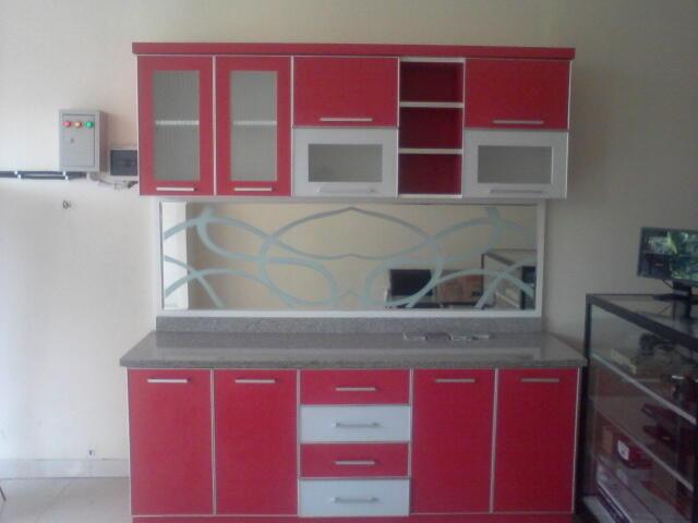 Lemari Dapur Kitchen Set Minimalis Murah