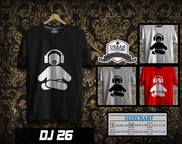 KAOS T-SHIRT DISC JOCKEY ( DJ ) & PHOTOGRAPHY ( CANON NIKON LEICA ) =READY STOCK= !!
