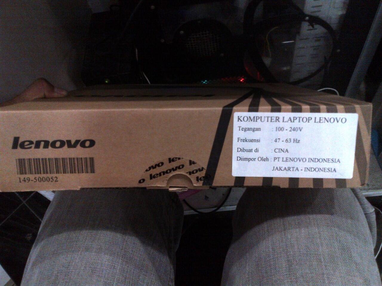 Jual Netbook LENOVO IdeaPad S110 59333035 10.1 Inch baru seminggu pakai Like New