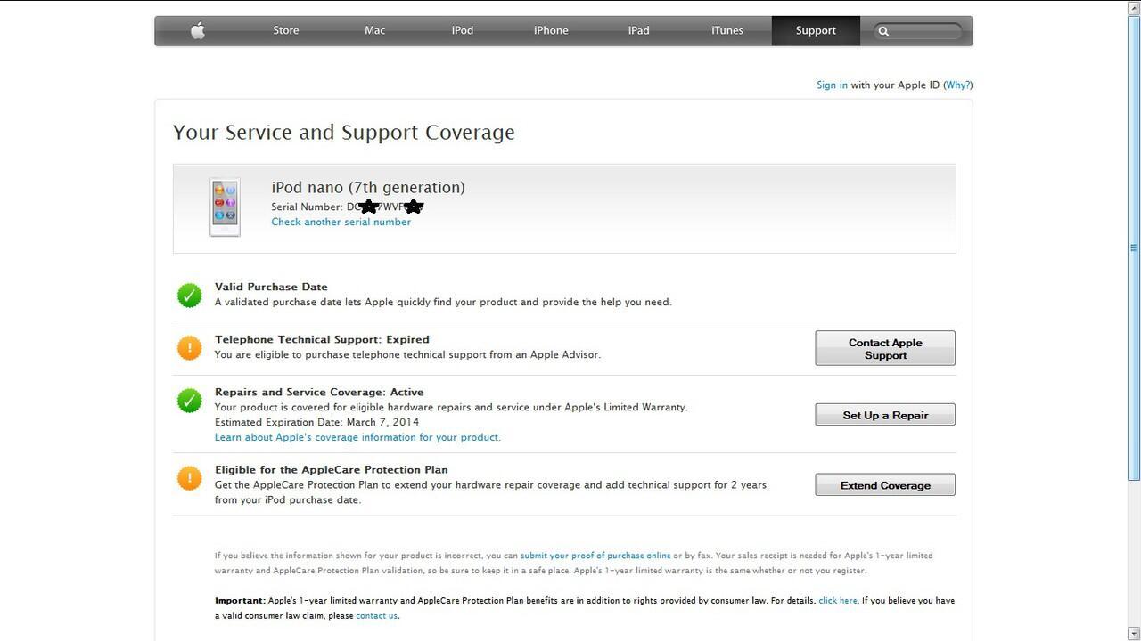 2nd iPod Nano 7Gen 16Gb Mulus 99% Black Slate, Grs s/d Maret 2014>Harga Stress 1,1 JT