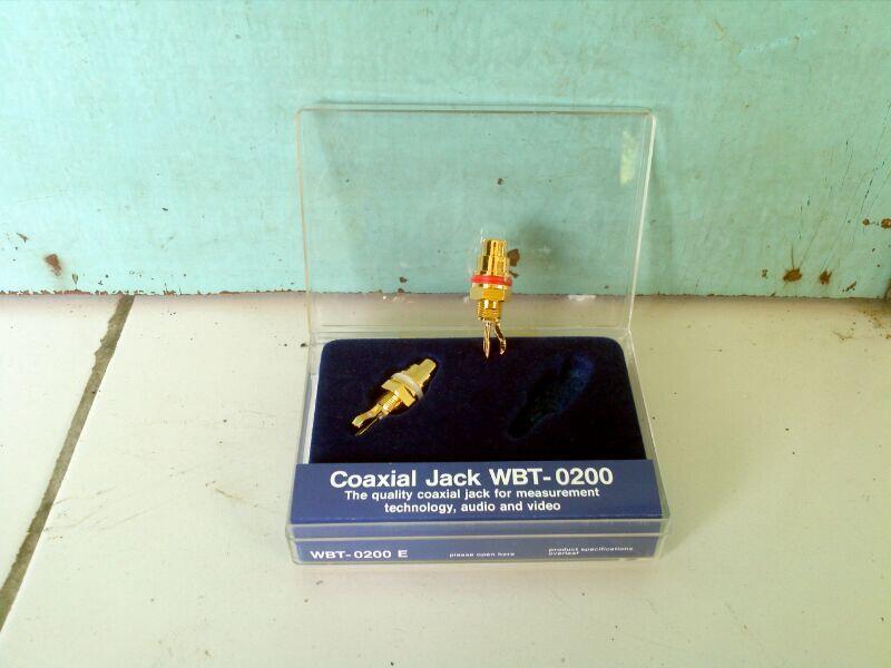 Socket coaxial WBT-0200 RCA