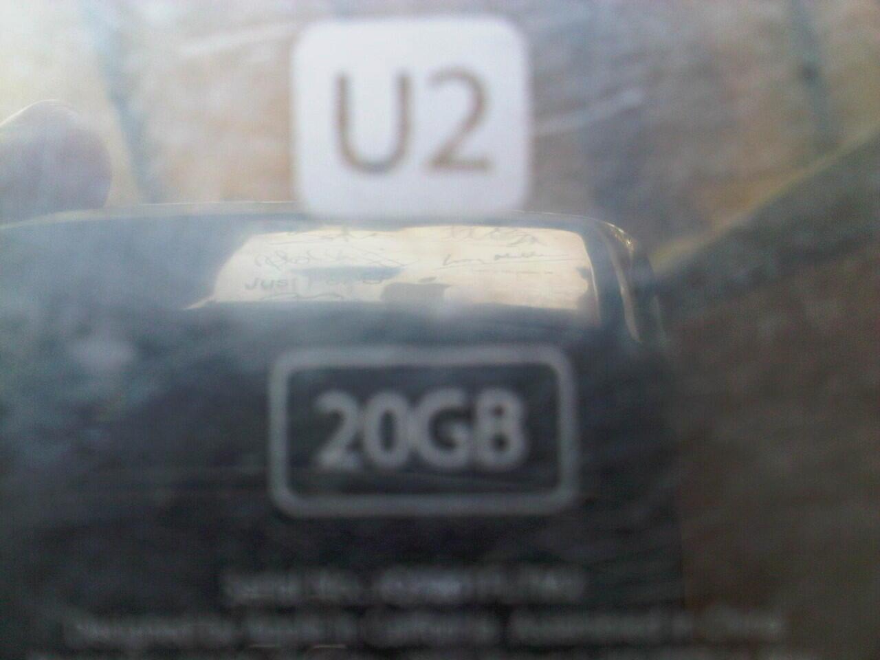 IPOD CLASSIC Gen 4th U2 Edition 20GB [Wolfson] ||Collector wajib Masuk ||Depok