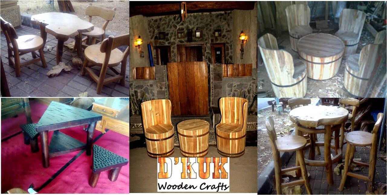 Ember Kayu / Tahang / Wooden Barrel