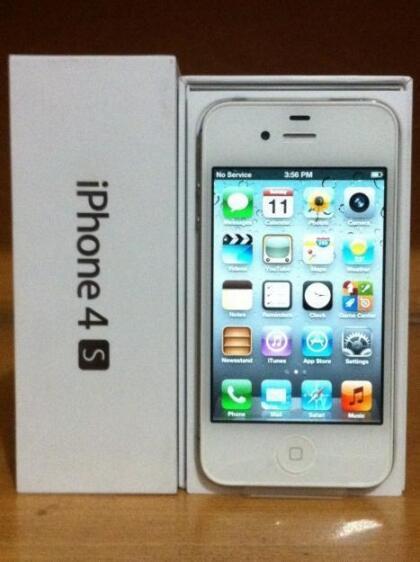 Terjual Apple iPhone 4S 16GB. masih baru dgn harga murah  c112a5db46