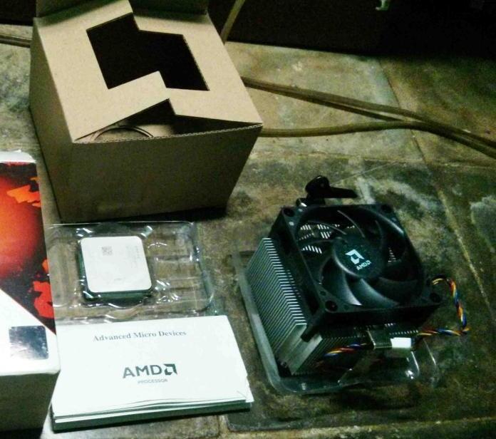 JUAL 2nd HSF bawaan AMD FX-6100 Zambezi (Ori)