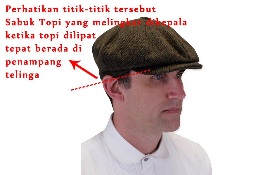 Vintage Style Tentang Newsboy Hat Cap (Topi Newsboy) 1337094e7e
