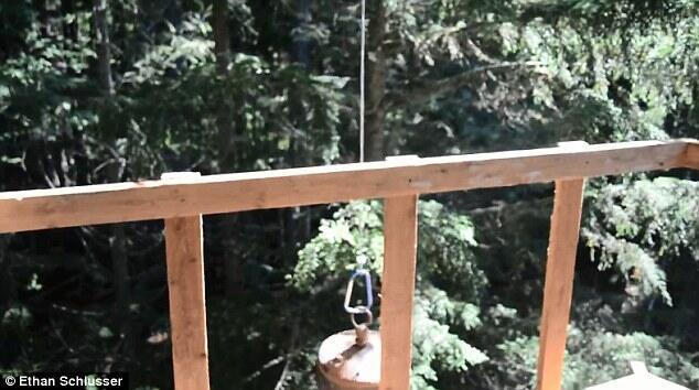 [KREATIF]~๑.Merakit Sepeda Menjadi Lift ke Rumah Pohon.๑~