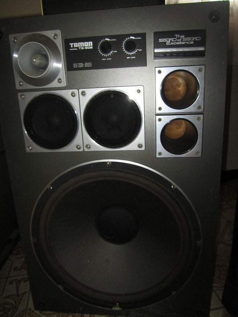 AUDIO SET [speaker tamon 808,amplifier kenwood,equalizer pioneer]