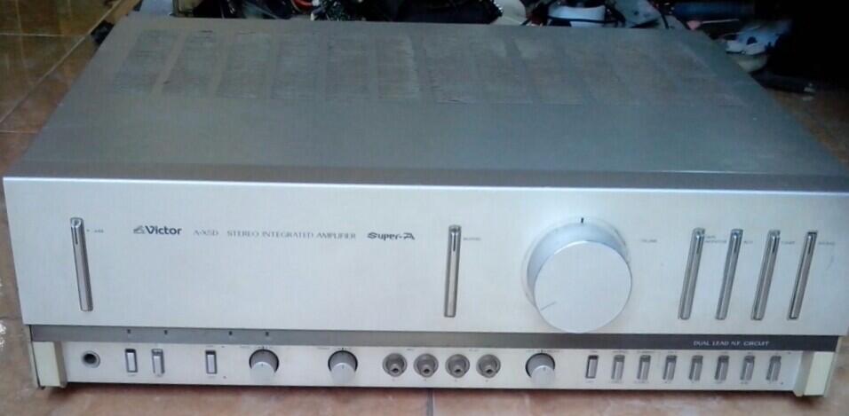 Amplifier Victor, A-X5D Builtup 100V ( 165W ).... Kier Audio - Solo