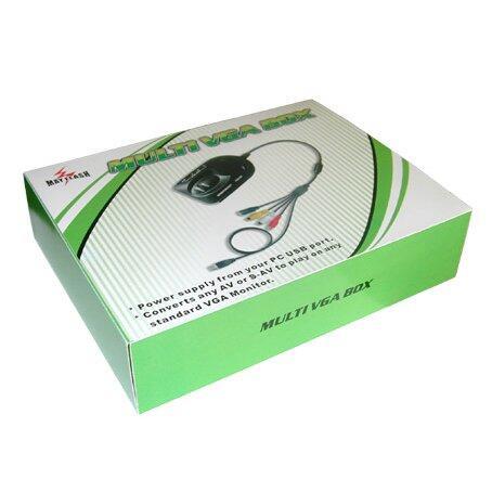 Multi VGA Box, mainkan PS3 / PS2 / Xbox di monitor PC agan..