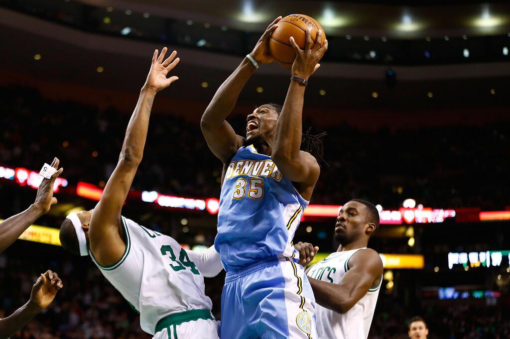 Kenneth Faried - Denver Nuggets - Jersey Basket NBA SwingMan rev30 Made in China
