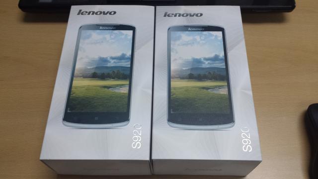 Lenovo S920. masih baru dgn harga murah