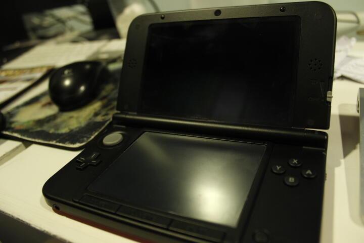 "WTS nintendo 3DS XL bundle mario 3d land red ""banyak bonus"""