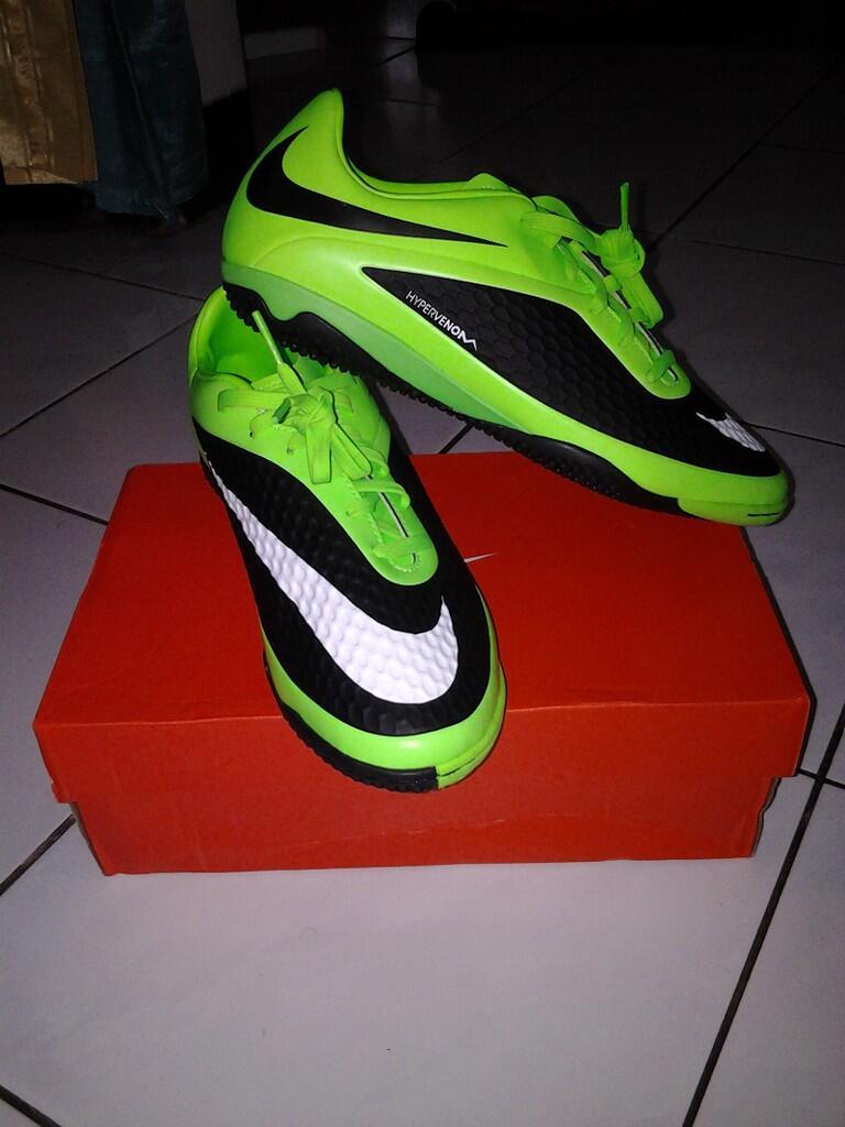 Sepatu Futsal Adidas F10 New Adizero Black size 41 1/3 (BANJARBARU)