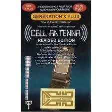 Sticker stiker Penguat Sinyal Gen-X Plus untuk HP/Handphone Modem Bandung/bdg