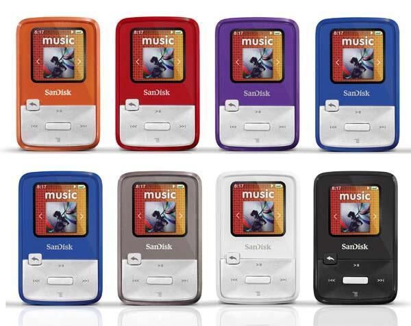 [ZENAUDIO] Sandisk Sansa Series ~ Clip+, Clip Zip, FUZE, FUZE+ (2GB, 4GB, 8GB,16G)