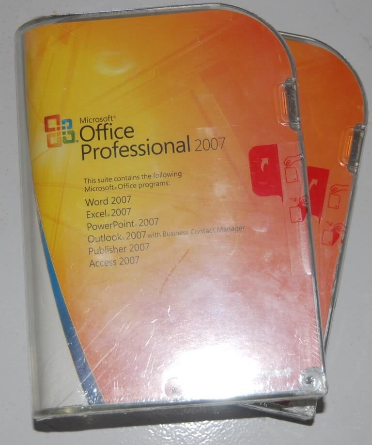 Microsoft Office 2007 Proffesional FPP (Garansi) Ori gan gapunya yang bajakan