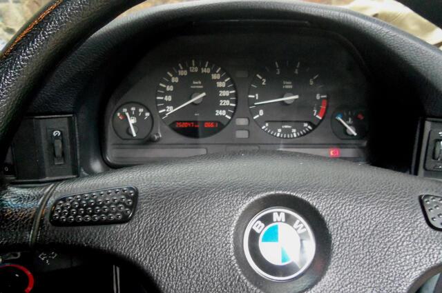 BMW 518I BUILD UP SLIDING ROOF LIGHT GREY 1992
