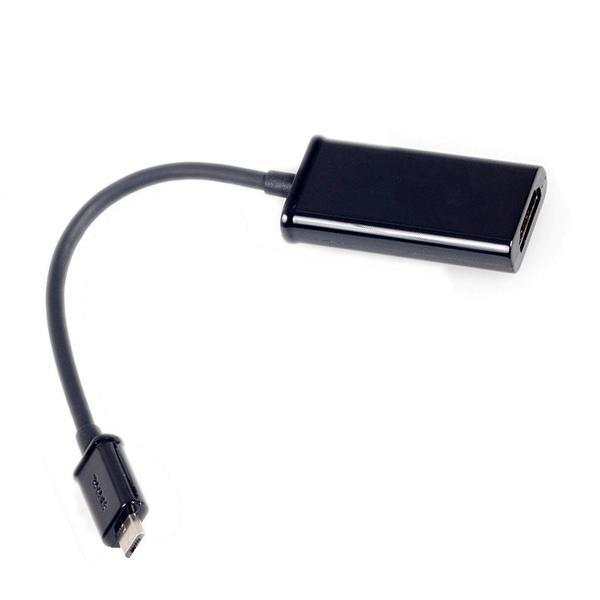 Terjual Micro USB On The Go Amp To HDMI MHL HDTV Amp To VGA