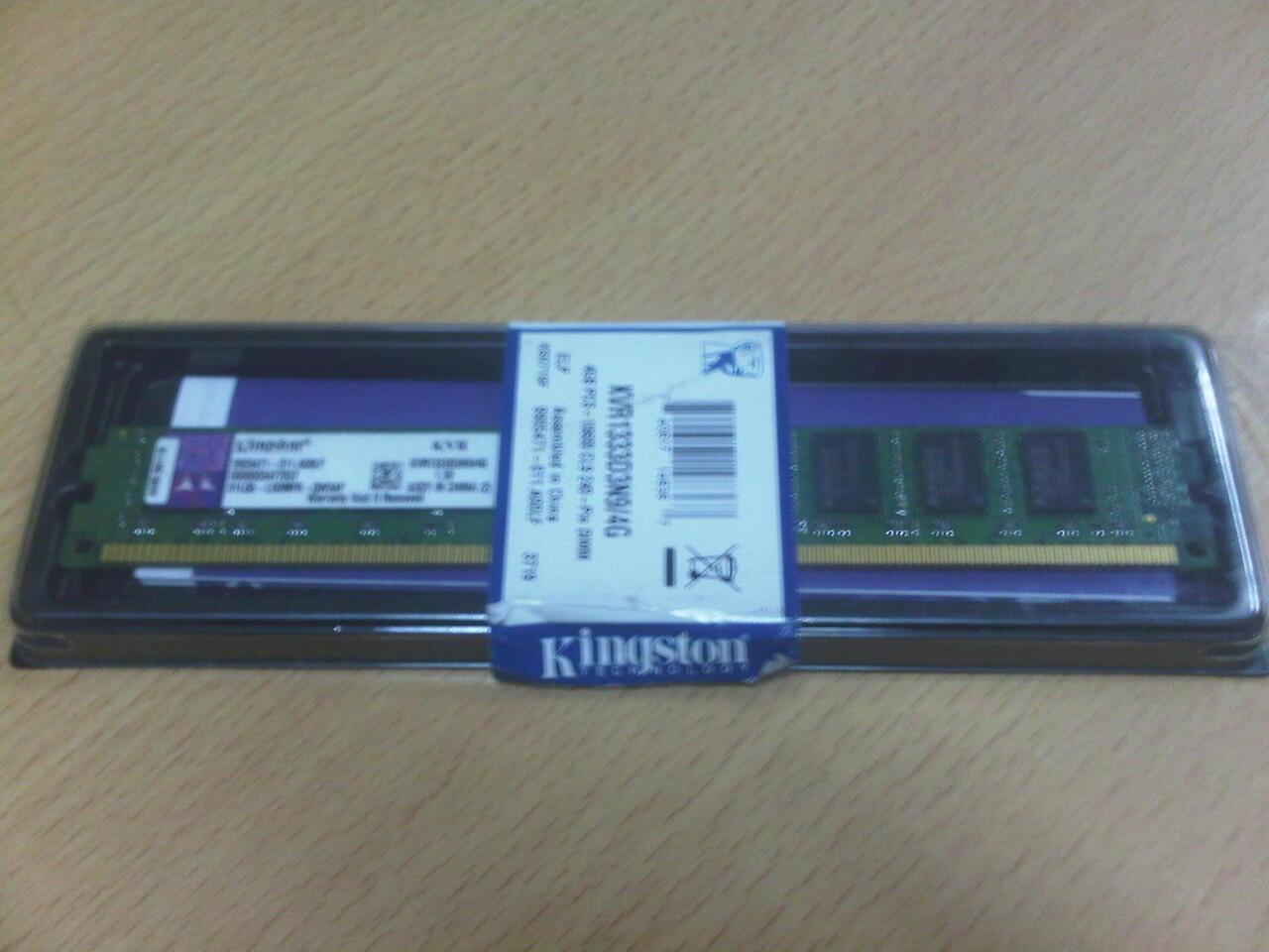 KINGSTON DDR3 4 GB PC-10600