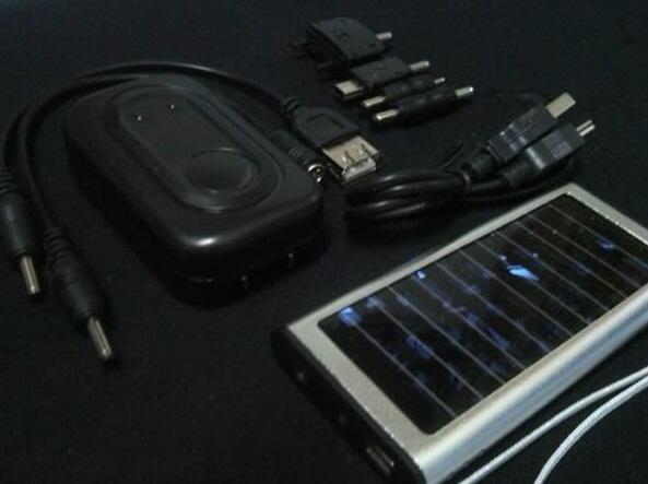 Solar Charger Power Bank Tenaga Matahari Sidoarjo