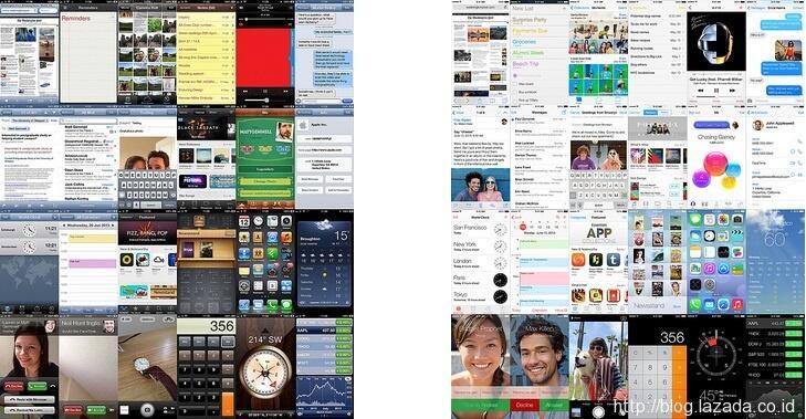 Apple iOS 7 Sudah Bisa di Download gan, Ini Reviewnya