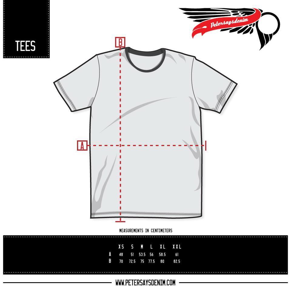 Lelang Kemeja/Shirt, Tees & Bracelet Petersaysdenim Original BNWT, OB Rendah banget!!
