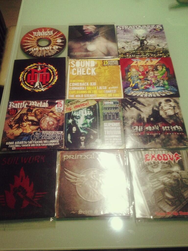 Sale cd sampler majalah metal