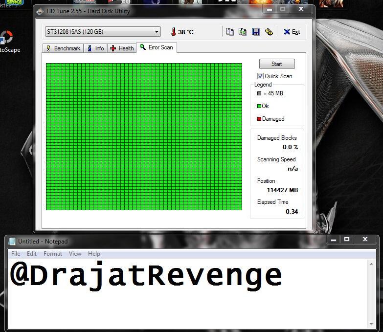 "HARDISK SEAGATE BARRACUDA 7200RPM 120GB SATA 3.5"" PC FULL ISI NEW TOP GAME N MOVIE"