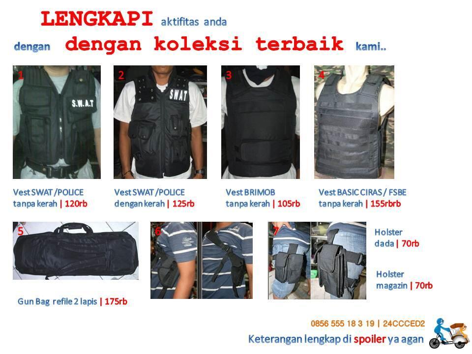 █★ GUNBAG tas laras panjang pistol | body armor protector | FAST RESPONSE ★█