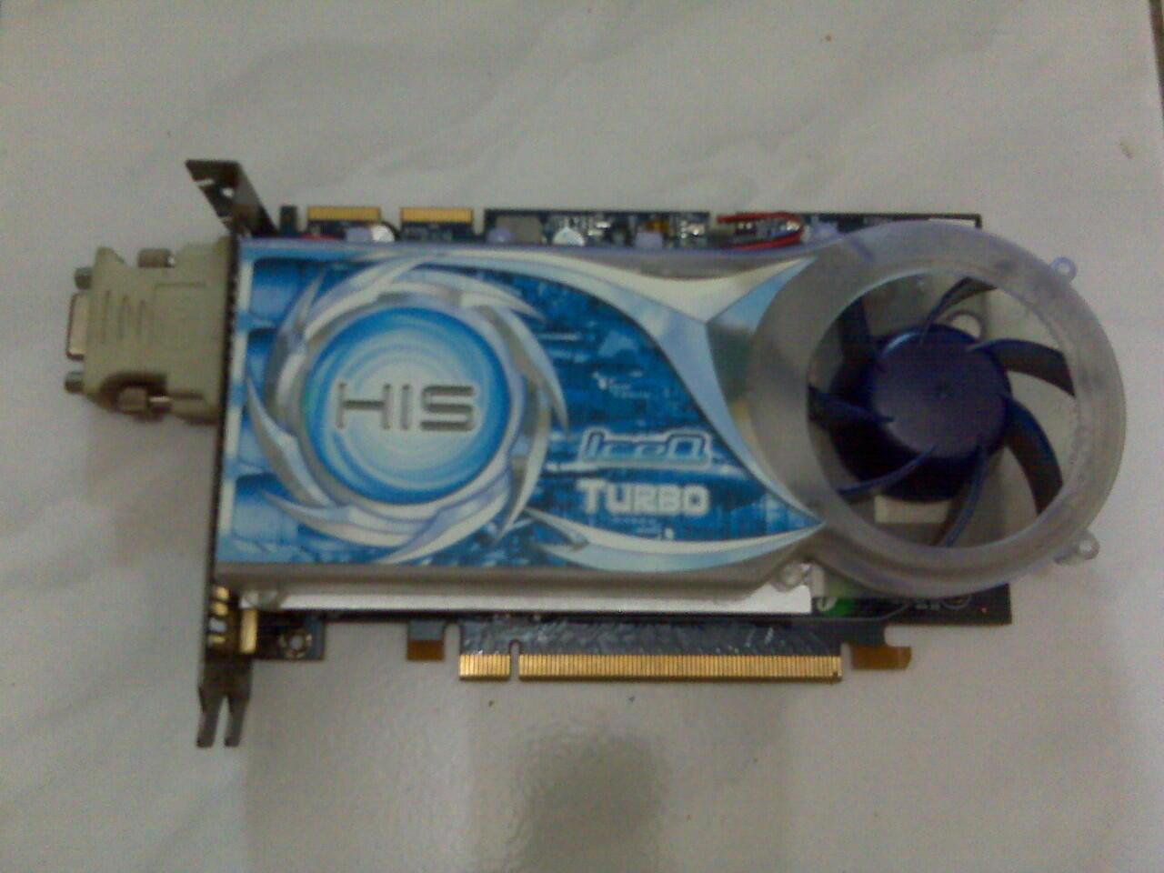 VGA PCIExp HIS HD 3650 IceQ 512MB (128bit) DDR2