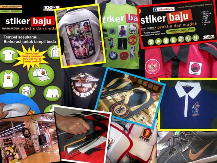Stiker Baju juga telah tersedia di beberapa toko buku di Jabodetabek (TOKO  BUKU TISERA. TOKO BUKU LEKSIKA dan TM BOOK STORE) 2c3357cb60