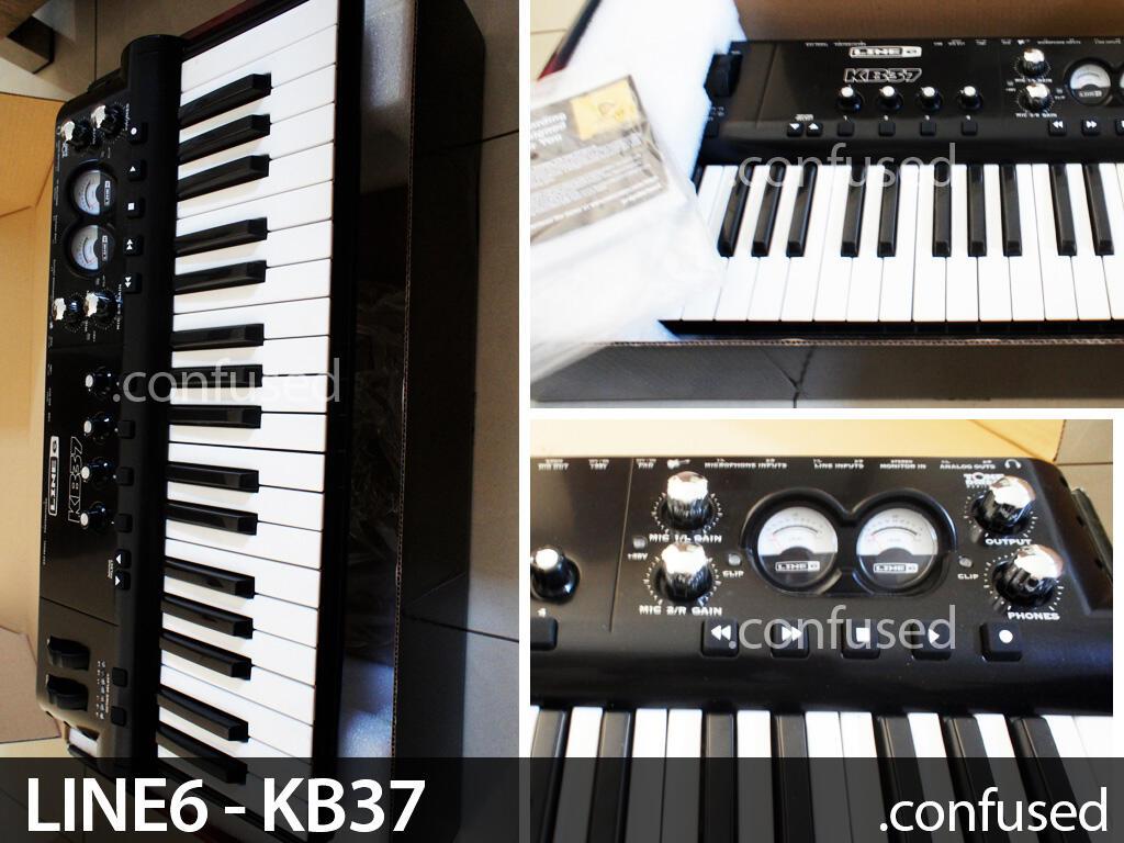 soundcard recording Line6 POD KB37