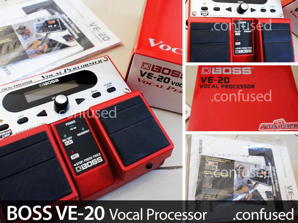 Efek Vokal BOSS VE-20