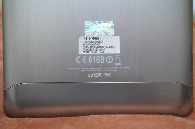 SAMSUNG GALAXY TAB 7.7 - 32GB - MULUS - BANDUNG